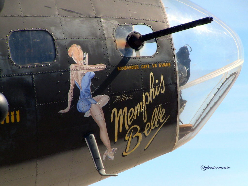 The Memphis Belle from the Movie