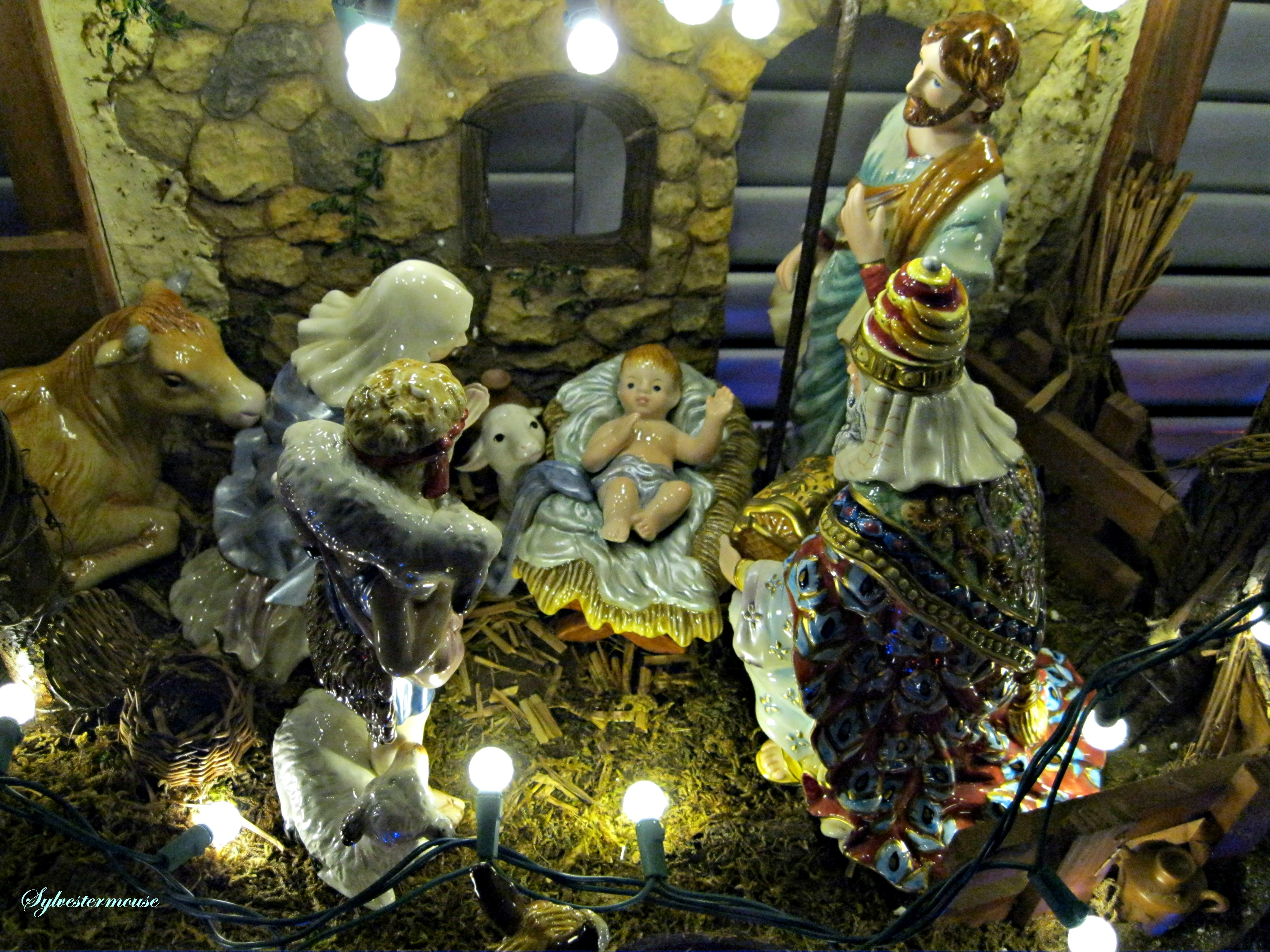 Nativity Scene photo by Sylvestermouse